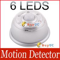 Infrared PIR Sensor LED Light Lamp Motion Detector