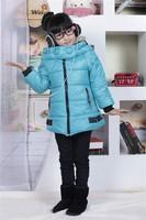Free shipping children girl cotton-padded jacket