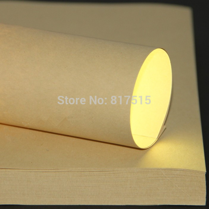 A4 imported brown kraft paper, 120g craft paper, DIY gift wrapper, printing and copy paper,wrapping paper(China (Mainland))