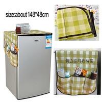 Multi purpose refrigerator dust cover storage bag universal cover towel refrigerator cover