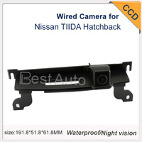 """Car Camera Wired Waterproof CCD 1/3"""" car parking camera  night vision 170 Degree  for Nissan TIIDA Hatchback 728*582"""