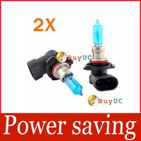 2 9005 HID Halogen Auto Car Head Light Bulbs Lamp 6500K