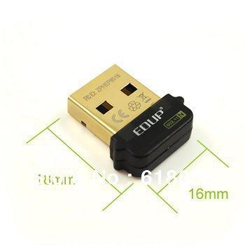 Free shipping! raspberry pi mini usb wifi dongle adapter 802.11n 150M bps