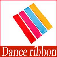 Gym Dance Ribbon Rhythmic Art Gymnastic Streamer Baton Twirling Rod 4M