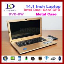 14 inch laptop computer, Intel Celeron 1037U 1.8Ghz Dual Core CPU,2GB RAM+500GB HDD,Bluetooth+WIFI,DVD-RW,HDMI, Windows 8