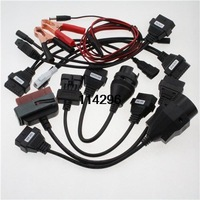 Adapter Cars Cables Set For Auto/com CDP Pro Cars Diagnostic Interface Cable with Free shipping