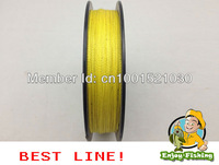 --free shipping--yellow 100m PE braided fishing line powerp plasitic boxdyneema 8LB10LB15LB20LB30LB40LB50LB65LB80LB100LB