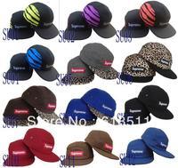 Free shipping-New arrived styles!! Supreme Snapback Hats,5-Panel Camp snapback caps,20PCS/LOT