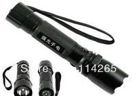 Free shiping 500LM cree LED Flashlight Q5 powerful Torch 5W 3 modes adjustable brightness fedex dhl