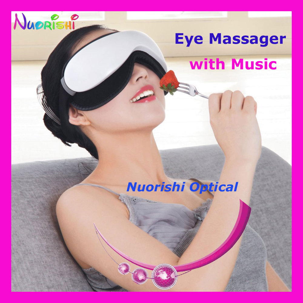 free shipping KS3600 recommended eye massager with music eye care massager with remote(China (Mainland))