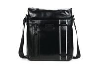 Leather bag Urban shoulder bag New school man Messenger Bags Danjue brand M3072-4