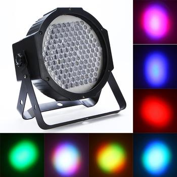 Professional AC 90-240V 127 RGB LED Effect Light DMX512 7 Channel Par Lights DMX-512  Stage Lighting for Disco DJ Party Show