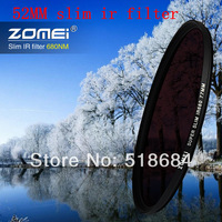 Wholesale high quality ZOMEI brand Slim IR Filter 52mm Infrared X-Ray IR Pass Filter 680NM 52 MM lens camera