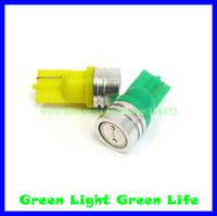 300pcs/lot free shipping car width indicator light, auto dashboard light, auto door light, trunk lamp,T10-1W
