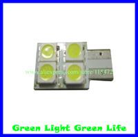 300pcs/lot free shipping car width indicator light, auto dashboard light, auto door light, trunk lamp,T10-4SMD(5050)