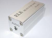 MINI PCM2704 HI-FI USB DAC SOUND  EL0D01  hi-fi ELNA Capacitance for it (silver)