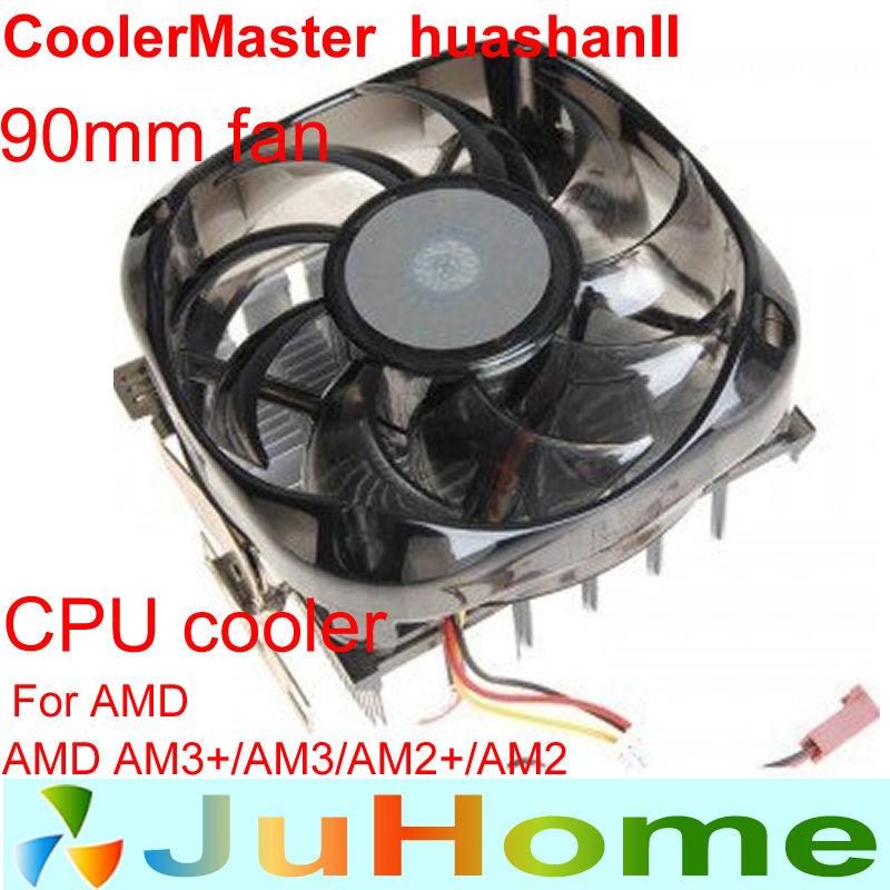 90mm fan Aluminum congestion copper heatsink AMD AM2/AM2+/AM3/AM3+ cpu radiator CPU cooler CPU Fans CoolerMaster HUASHAN2(China (Mainland))