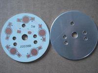 5w 7w aluminum plate 49mm diameter led pcb heatsink plate free shipping