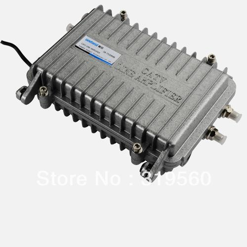 Seebest Cable TV Signal Amplifier Splitter Booster CATV trunk Amplifier 2 Output 30DB SB-7530MB(China (Mainland))