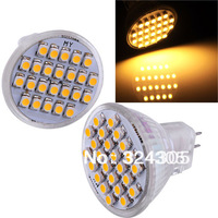 NEW MR11 GU10 Pure White warm white 3528 LED 24 SMD Spot Light Energy Saving  Long Life Lamp  Lamp Bulb 12V 2W