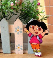 Dora iron on patches  Explorer Embroidered Applique Badge Kids Children Cartoon Patch  12pcs/lot free shipping