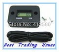 Free shipping ! LCD Inductive Digital Hour Meter For Marine,ATV,Motorcycle,Snowmobile
