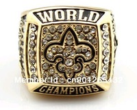 Free shipping new orleans saints super bowl championship ring(R100006)
