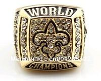 Free shipping new orleans saints super bowl championship ring(R100006)