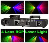 RGP(RGB) 4 Lens Stage DJ Laser Light Stage Disco Party Lazer Lighting Show Beam