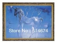 L'unicorne Allegre-1500pcs jigsaw puzzle size 800*600mm-Salvador Dali-FREE shipping