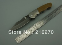 BUSSE 8cr13mov blade folding knife 58HRC hardness camping knife outdoor knife utility knife HIGH QUALITY FREE SHIPPING