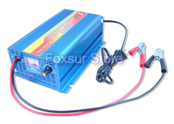 24V 15A Lead Acid Battery charger with charge current indicator, intelligent 4-stage(China (Mainland))