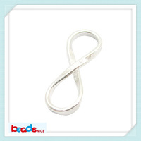 Beadsnice ID26140 925 silver 8 Tiny Infinity connector  infinity links  Pendant  Components for 8 Infinity bracelet