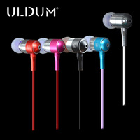 Free shipping  in ear earphones with mic stereo headphones  microphone ear buds for  mebile phone mp3