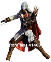 NECA assassin creed 2 generation Ezio ai western white 7 inch model hand to do