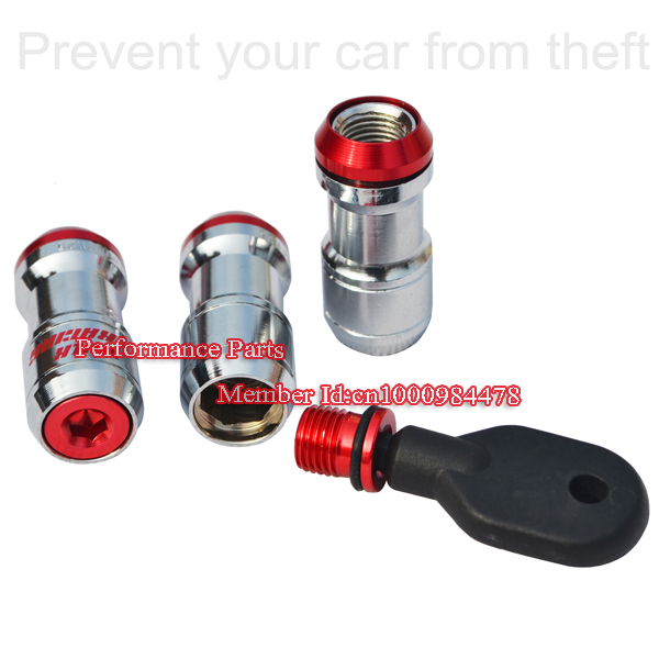 Fast Shipping 2013 High Quality Volk Racing Formula Wheel Lug Nut Whee Bolt 20pieces/box(China (Mainland))