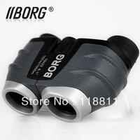 Free Shipping Borg HD pocket-size waterproof  Not infrared outdoor 10*22 Binoculars night vision telescope