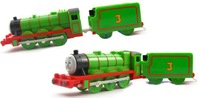 Electric Thomas And Friend Trackmaster Engine Motorized Train - Henry & Truck Gift Children's Plastic Toy Train
