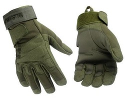 New Full finger Tactical Weather Shooting Military Cycling hunting Camping Sport Outdoor Game Gloves Army Green Size L(China (Mainland))