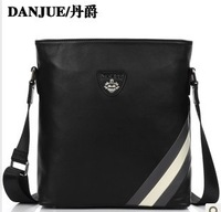 Genuine Leather men leather bags of  Messenger Bags Danjue brand D3912-4