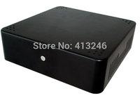 MINI ITX HTPC VESA car chassis 19x19cm set-top box small computer chassis Mini Computer case