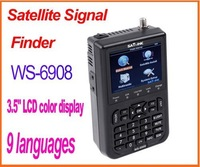 "SATlink WS-6908 3.5"" DVB-S FTA Professional Digital Satellite Signal Finder Meter"