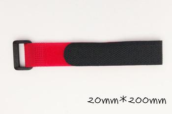 20 piece  Velcro Lipo Battery Strap Reusable Cable Tie Wrap 20*200