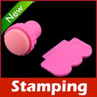 New Nail Art Stamping Stamp Tools Scraping Knife Set
