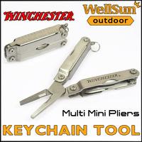 MOQ:5pcs 100% OEM Winchester Mini Pliers Folding Knife Folding Multi Tool Knife Pocket Knife Survival Tool Free Shipping #GB04