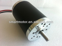 63ZYT01B- 24v  high torque high speed Dc Motor, rated 9000rpm, 0.2Nm, 200w, no load 10000 rpm