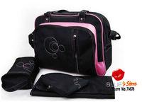 FREE SHIPPING Wholesale classic baby kingdom baby nappy diaper bag portable mummy handbag large baby diaper bag