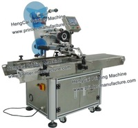 Automatic Flat Labeling Machine Top Labeler Label Applicator