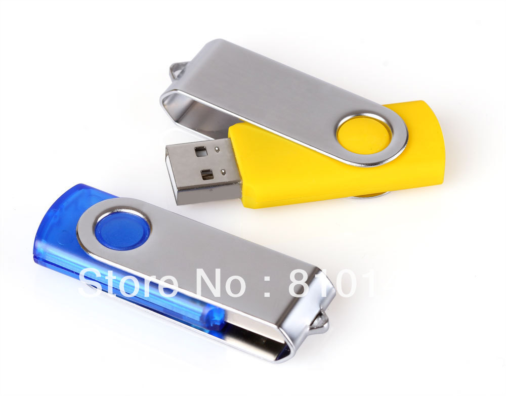 1PCS Swivel Usb Flash Drive 4GB 8GB 16GB 32GB 64GB 128GB Disk Memory Free shipping(China (Mainland))