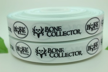 new 7/8''  Free shipping bone collector printed grosgrain ribbon bow diy party decoration custom wholesale 22mm P398